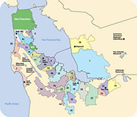 Bay Area Water Supply Conservation Agency Metropolitan transportation commision (mtc) and association of bay area governments (abag) site for census data for the nine county bay area. bay area water supply conservation agency